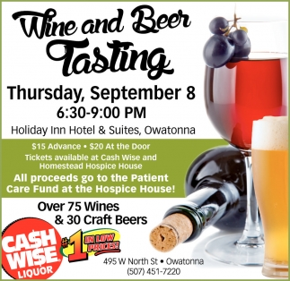 Wine and Beer Tasting