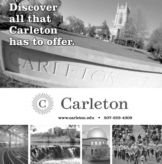 Discover all that Carleton has to offer.