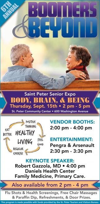 Saint Peter Senior Expo