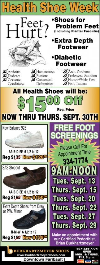 Health Shoe Week