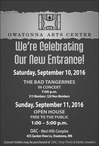 We're Celebrating Our New Entrance!