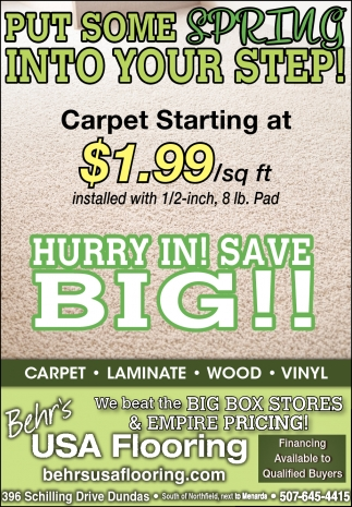 HURRY IN! SAVE BIG!!
