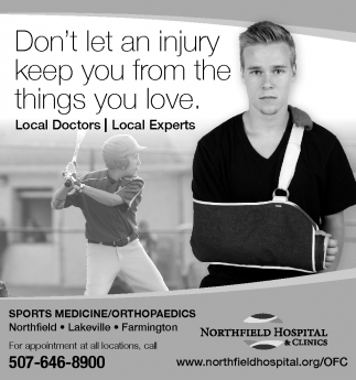 Don't let an injury keep you from the things you love