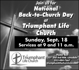 National Back to Church Day