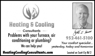 Problems with your furnace, air conditioning or plumbing?