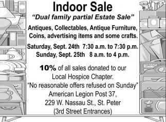 Dual family partial Estate Sale