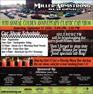 11th Annual Golden Anniversary Classic Car Show