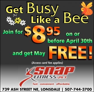 Get Busy Like a Bee