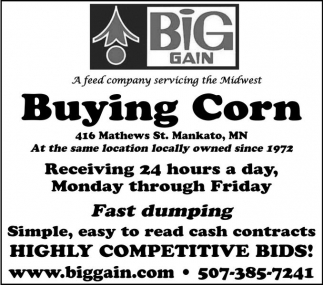 Buying Corn