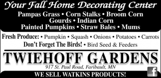 Your Fall Home Decorating Center