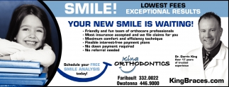 SMILE! YOUR NEW SMILE IS WAITING