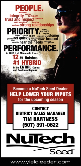 Become a NuTech Seed Dealer