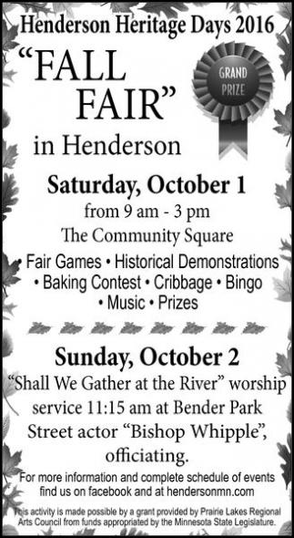 Henderson Heritage Days 2016