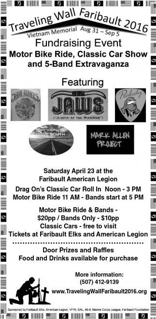 Motor Bike Ride, Car Show