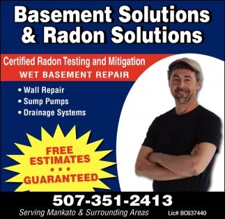 Wall Repair - Drainage Systems