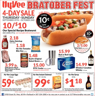 Hy-Vee Bratober Fest