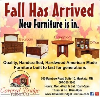 Ads For Covered Bridge Furniture In Mankato, MN