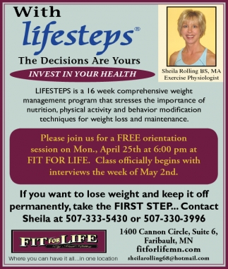 With Lifesteps
