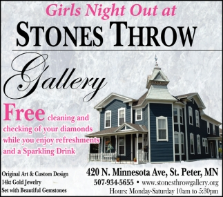 Girls Night Out, Stones Throw Gallery, Saint Peter, MN