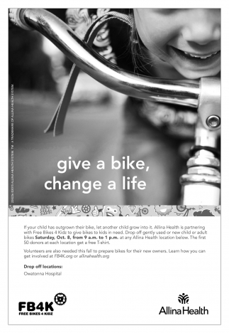 Give a bike, change a life