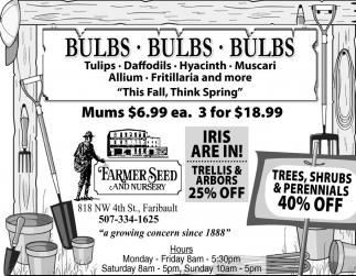 BULBS - BULBS - BULBS