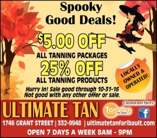 Spooky Good Deals!