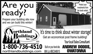 Delicieux Ads For Northland Buildings In Eau Claire, WI
