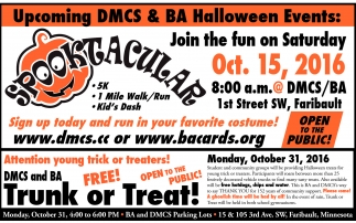 DMCS and BA Halloween Eventd