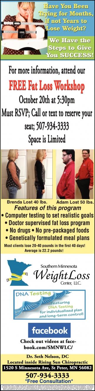 FREE Fat Loss Workshop