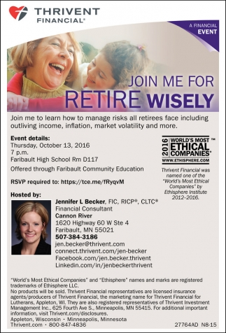 Join Me for Retire Wisely