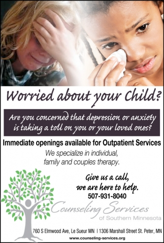 Worried About Your Child?