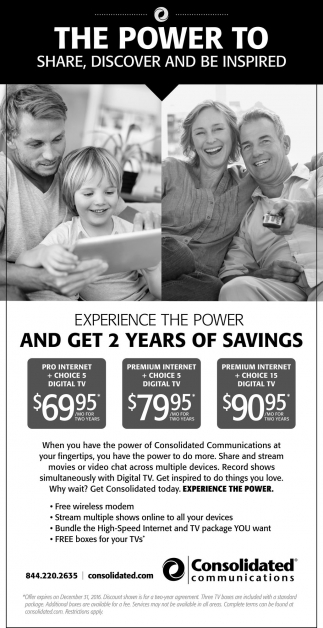 Experience the power and get 2 years of savings
