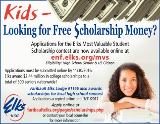 Free Scholarship Money