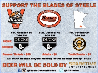 Support The Blades of Steele