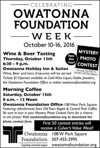 Owatonna Foundation Week