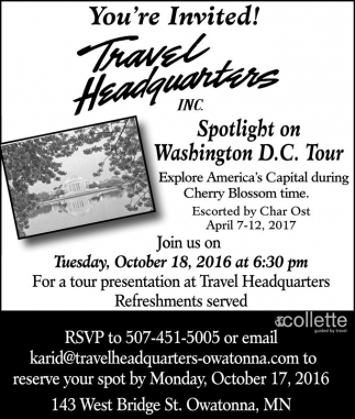 Spotlight on Washington D.C. Tour