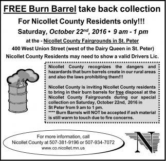 Free Burn Barrel