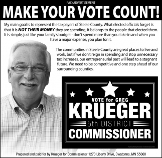 5th District Commissioner