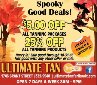 Spooky Good Deals