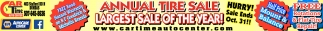 Annual Tire Sale