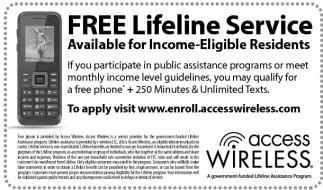 FREE Lifeline Service