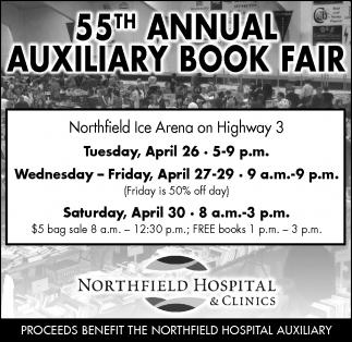 55TH ANNUAL AUXILIARY BOOK FAIR