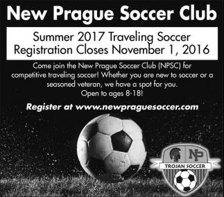 Summer 2017 Traveling Soccer