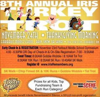 8th Annual Iris Turkey Trot