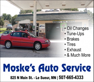 Oil Change, Tune-Ups, Brakes, Tires