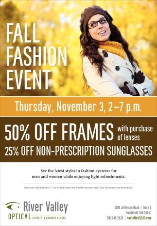 Fall Fashion Event