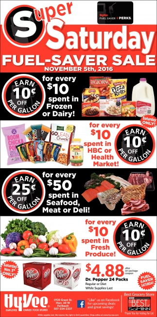 Fuel Saver Sale