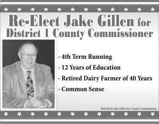 Re-Elect for District 1
