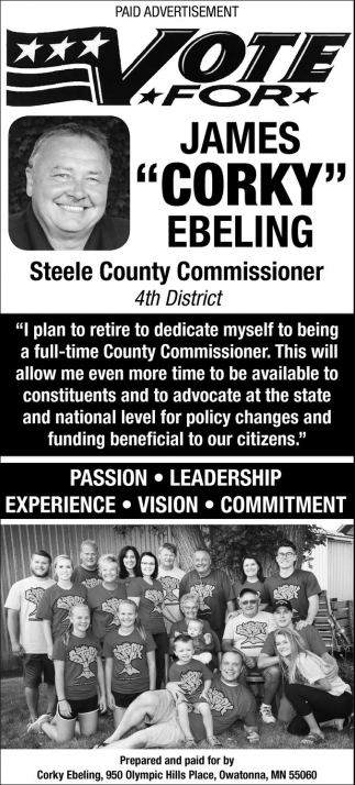 Steele County Commissioner 4th District