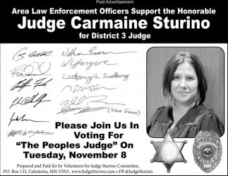 For District 3 Judge
